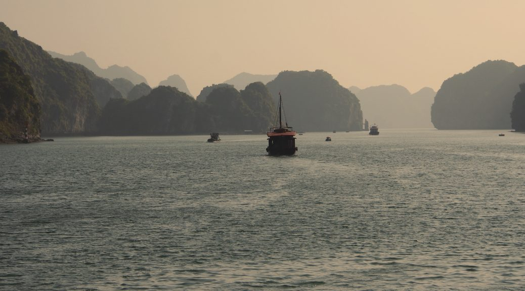 Tourist Vessel Halong Bay