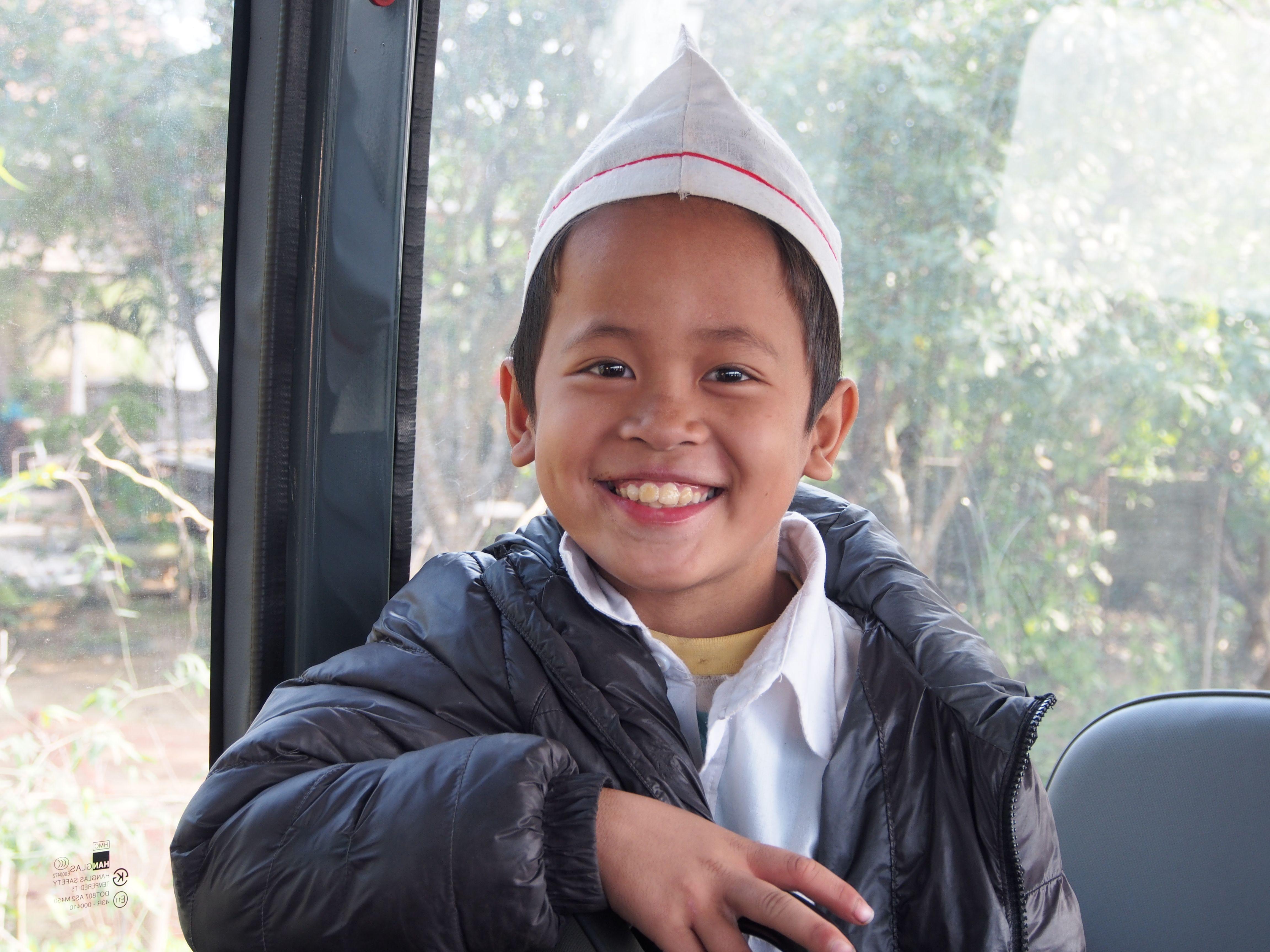 Schoolboy in Vietnam