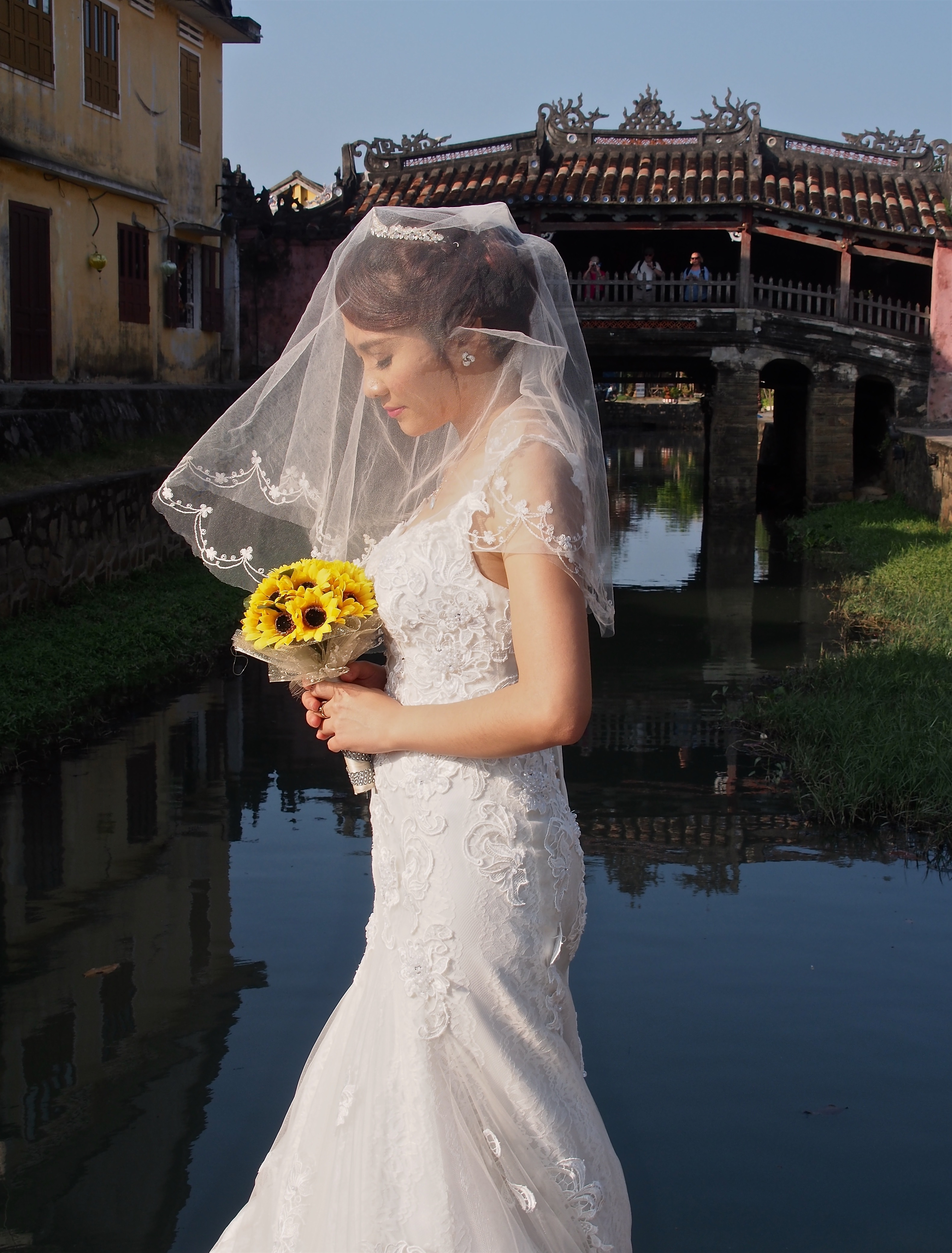 Bride in Hoi An