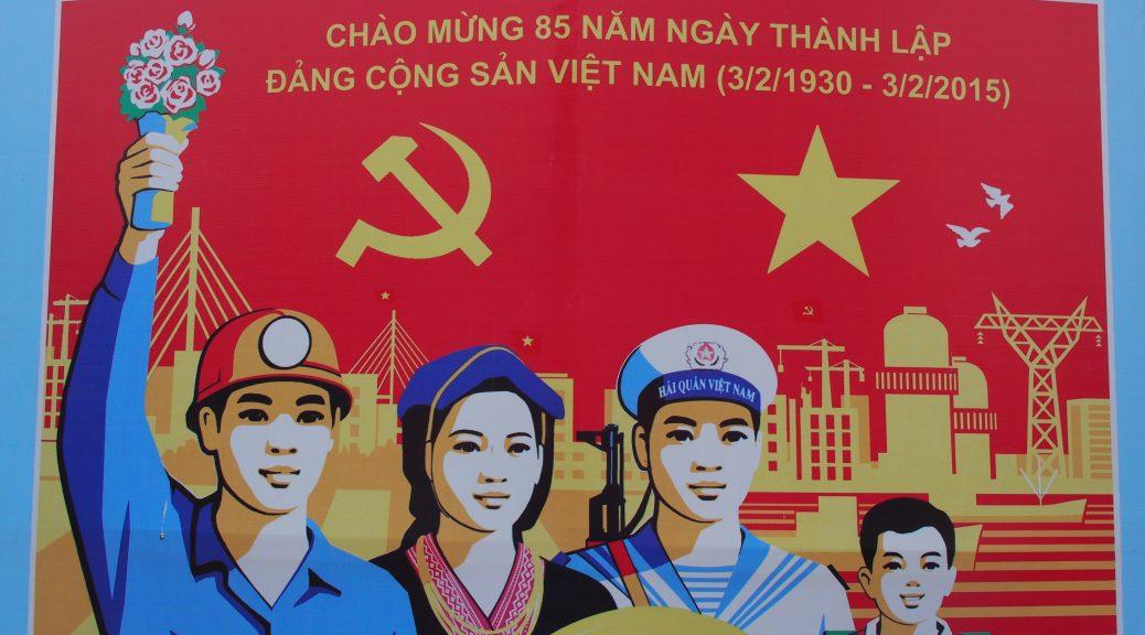 communist propaganda poster vietnam