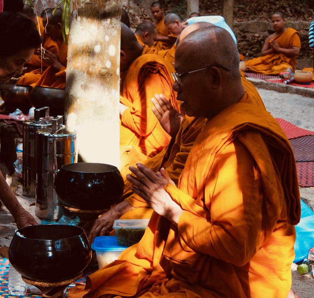 Monk at Suan Mohkk