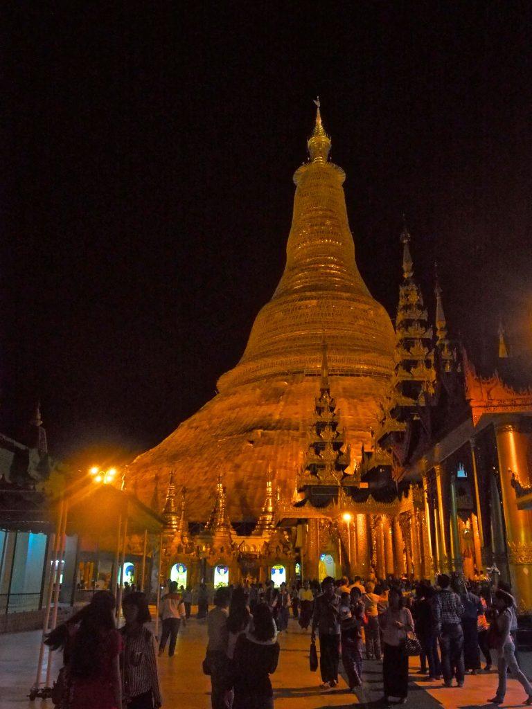 Shweddagon Pagoda, Yangon, Myanmar