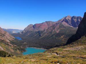 Grinnell Glacier Hike. Glacier National Park Montana