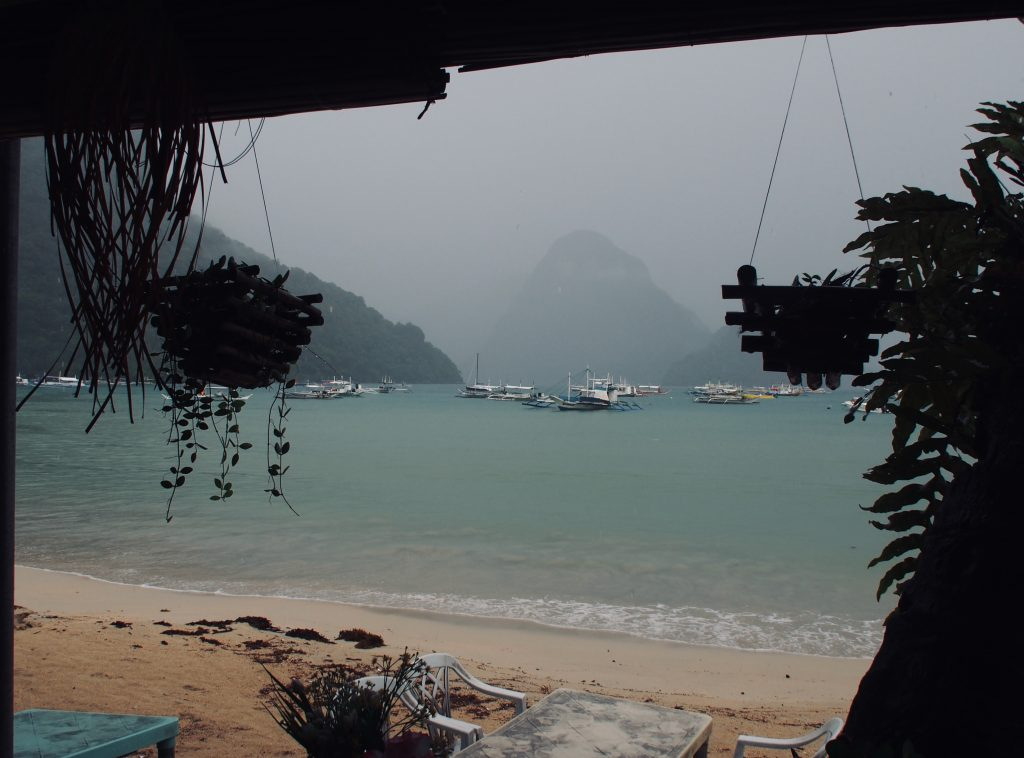 Rainy Day in Bacuit Bay,El Nido ,Palawan ,Phillipines ,S.E. Asia