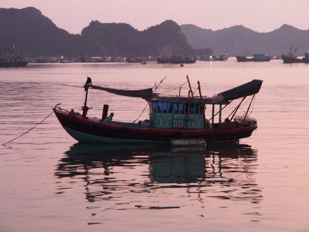 Junk in Halong Bay