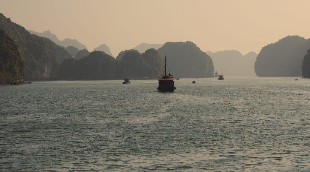 Tourist Vessel Halong Bay