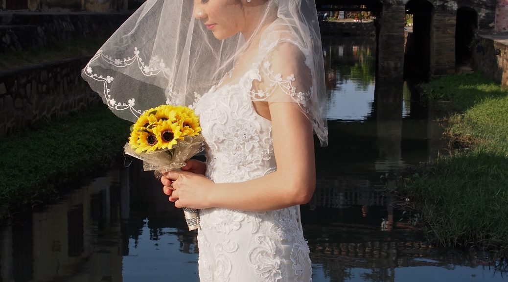 Bride in Hoi An