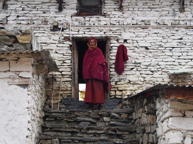 Nun in Nepal