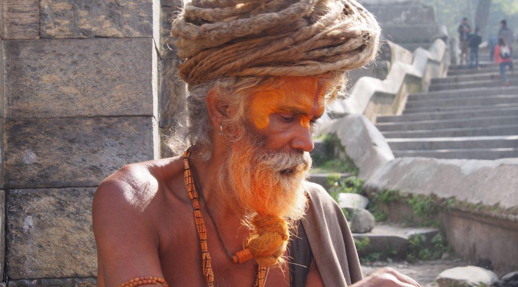 Sadhu in Nepal