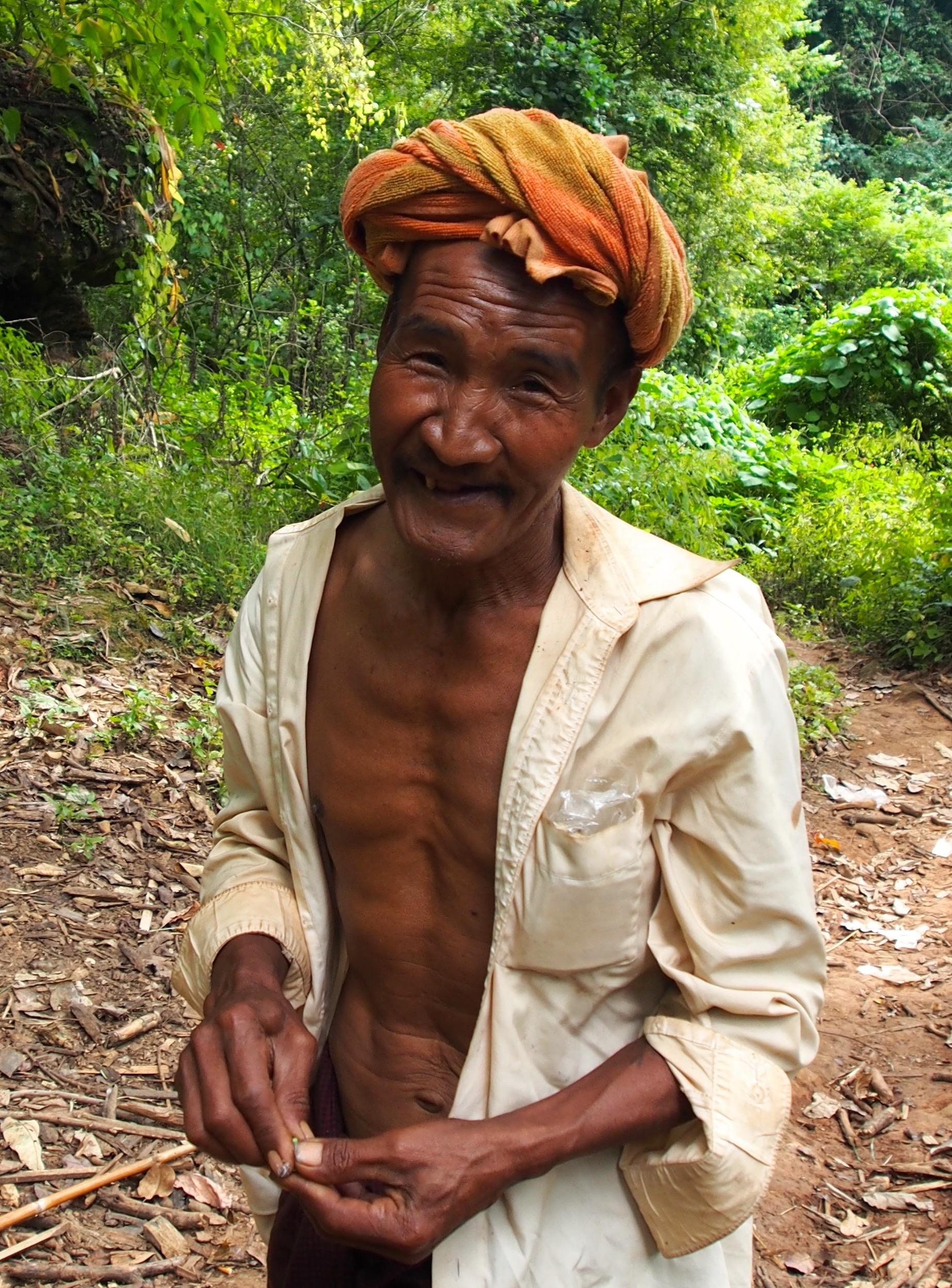 Happy farmer Myanmar