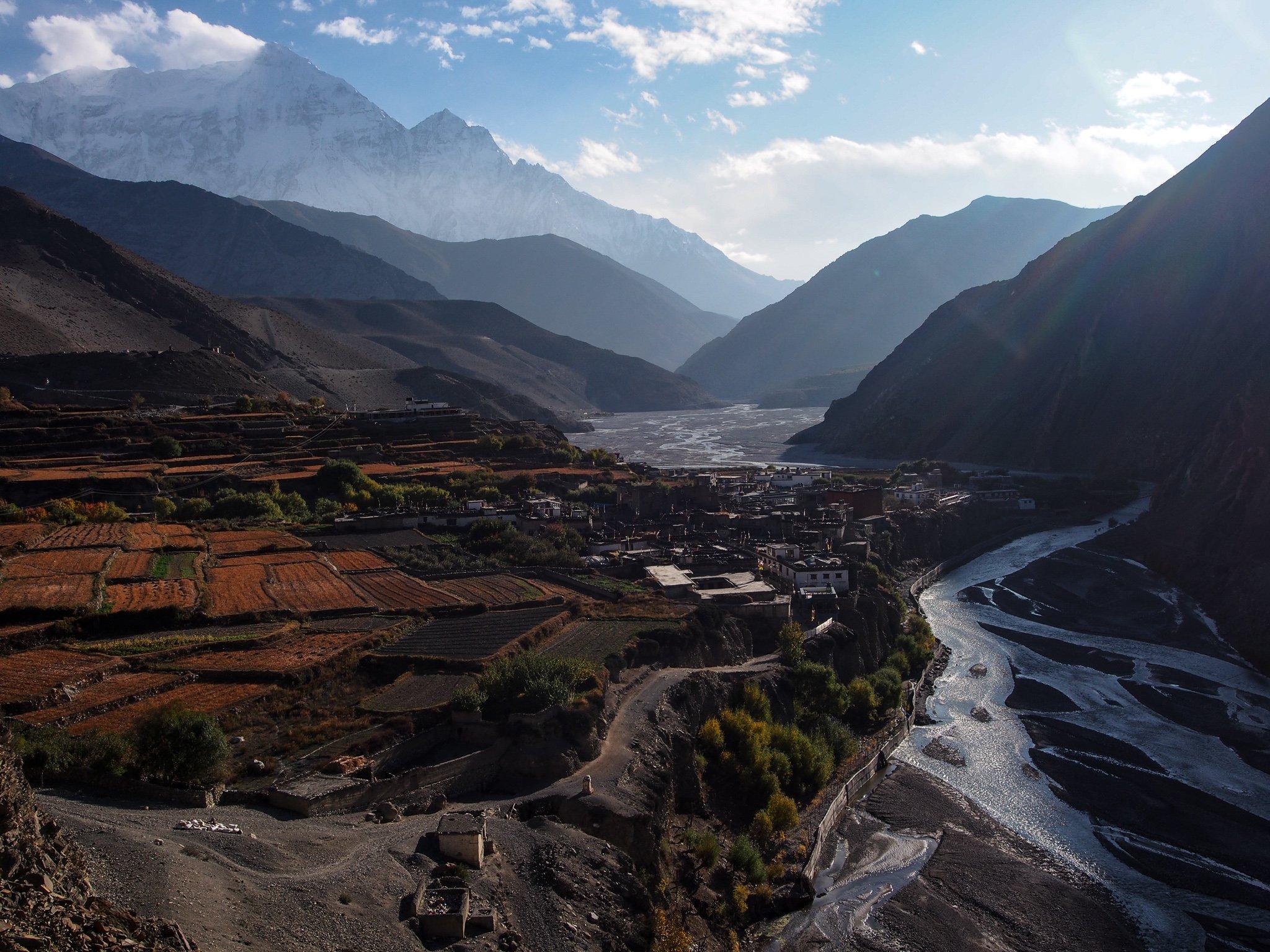Kagbeni Annapurna Circuit Nepal